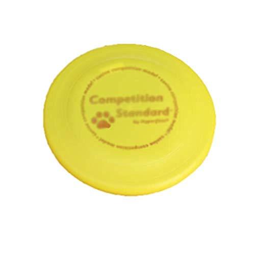 nde Spielzeug Frisbees, Flying Disc 22Cm, 4 Farben, Für Sommerpicknicks, Strand, Zum Geburtstag, Spielen Im Freien, Weiß, Gelb ()