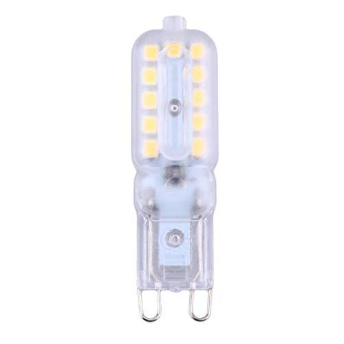G9 ha condotto la luce della lampada 3W / 5W G9 ha condotto la lampadina 220V SMD2835 LED Il riflettore G9 per il candeliere a cristallo sostituisce la lampada alogena bianco caldo WEIWEITOE