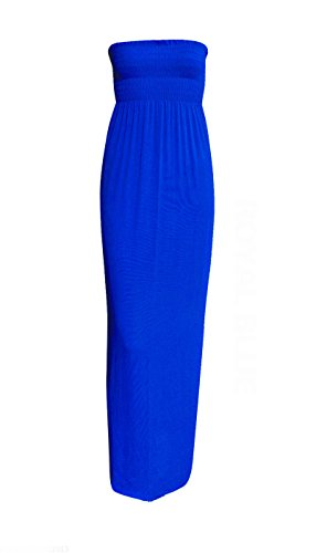 Unknown -  Vestito  - Sera  - Senza maniche  - Donna Royal Blue