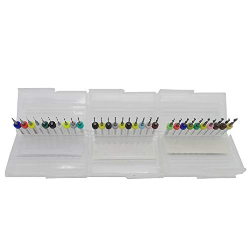 Micro Brocas Taladro Drill 30 piezas PCB Placa circuito