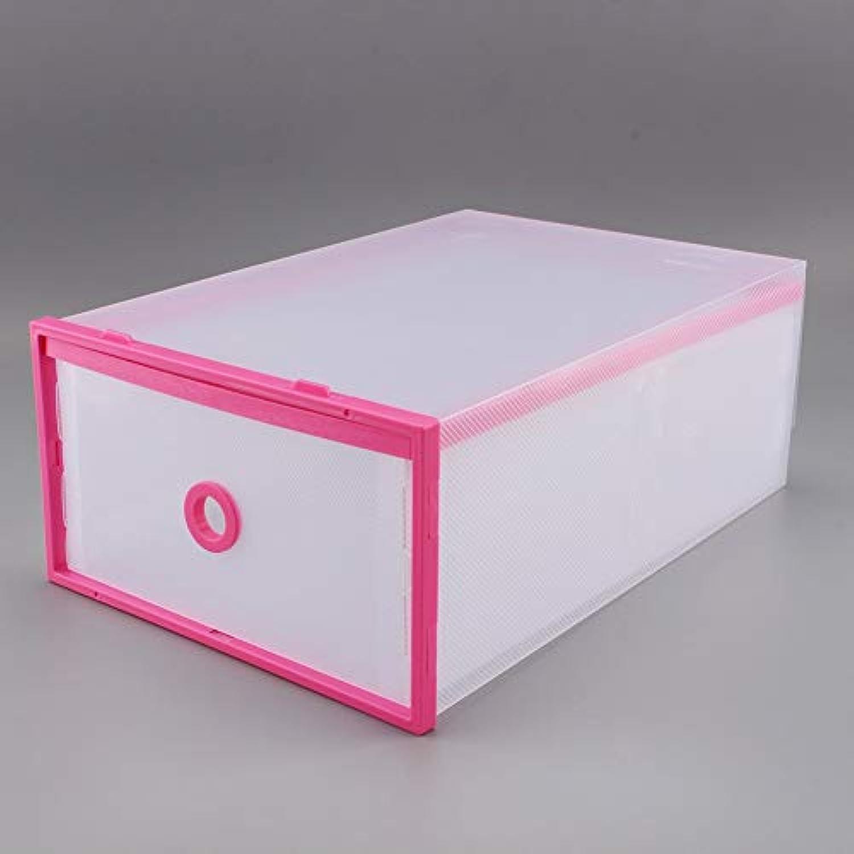 XZDXR Scatola Porta Scarpe, 12 Cassetti E Scarpiera Pieghevole, Organizer Pulito | Qualità primaria  | Gentiluomo/Signora Scarpa