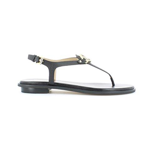 michael-kors-flip-flop-zapatos-de-las-mujeres-40r6lefs2l-lee-correa-talla-37-negro