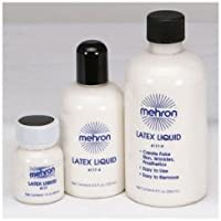 Mehron Liquid Latex for Special Effects - All Sizes Available Please Select (4.5oz)