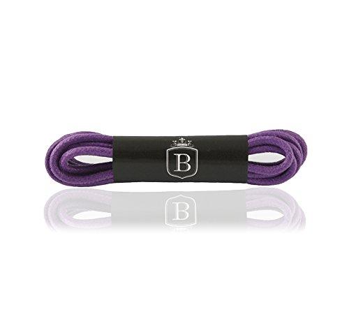 Brandery Schnürsenkel (60 cm, Lila (Purple) (Lila Stiefeln)