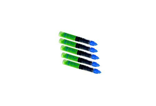 Ersatzminen für Metall-Ätzschreiber/Metallätzstift geeignet für alle Schwermetalle einschließlich rostfreier Edelstähle (VE mit 5 Stück), Art. 865 - Einschließlich Metall