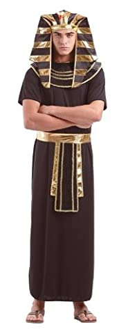 Foxxeo 10257 | Pharaokostüm Pharaoh Pharao Ägypten Antike Kostüm für Herren Gr. M - XXXXL, (Kostüm Express Für Erwachsene)