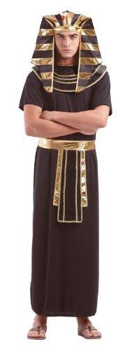 Foxxeo 10257 | Pharaokostüm Pharaoh Pharao Ägypten Antike Kostüm für Herren Gr. M - XXXXL, Größe:XXXL