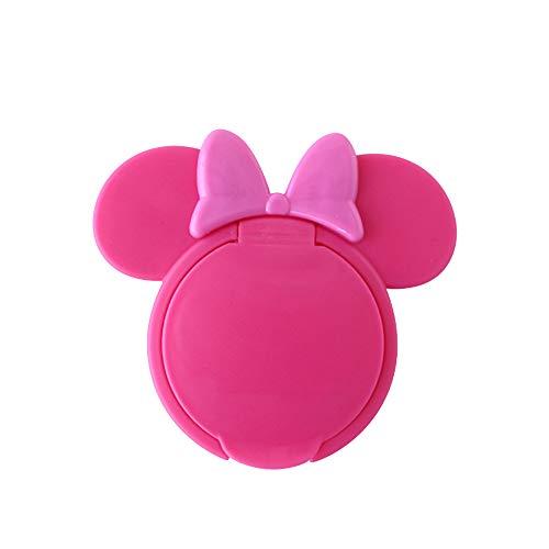 Ogquaton 1 STÜCKE Baby Nasses Papier Deckel Feuchttücher Abdeckung Nasses Gewebe Wiederverwendbarer Deckel Anti-Trocknung Anti-Umweltverschmutzung für Kleinkinder Mickey Form