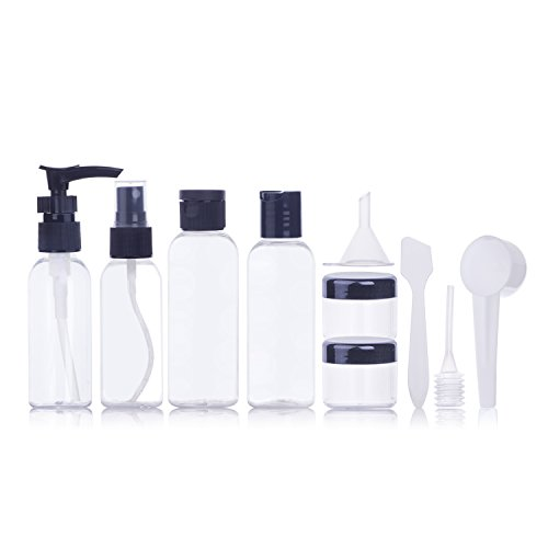 Botellas de Viaje – Meersee Envases Cosmetica Botella de viaje a pru