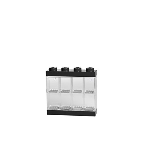 LEGO Minifigure Display Case Small [Black] (Case Display Wall-mounted)