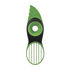 OXO Good Grips 3-in-1-Avocadoschneider - grün