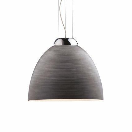 Ideal-Lux-Tolomeo-SP1-D40-Grigio-Lampada-a-Sospensione-Vetro-Grigio