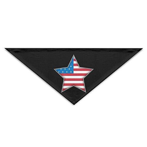 dfegyfr United States Independence Day Triangle Pet Scarf Dog Bandana Pet Collars for Dog Cat - Birthday