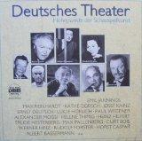 Deutsches Theater (Höhepunkte der Schauspielkunst - historische Aufnahmen) [Vinyl Schallplatte] [3 LP Box-Set]