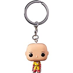 Funko- Pocket Pop Keychain: One Punch Man: Saitama, 15027