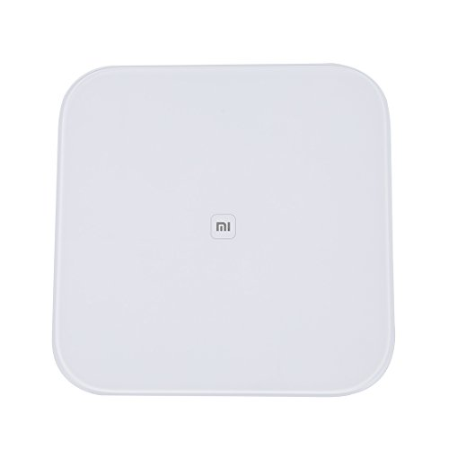 Xiaomi Smart Scale - Báscula con Bluetooth para Mi Band, Mi Fit, Compatible con iPhone o Android
