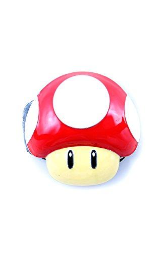 Preisvergleich Produktbild Nintendo, Super Mario Power Up Mushroom Buckle 3D inkl. Gürtel