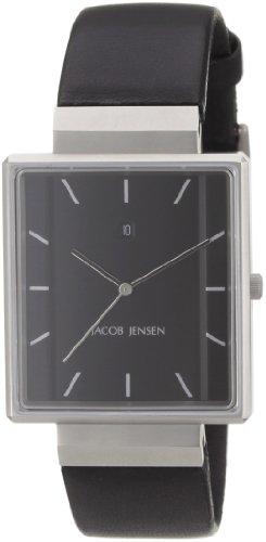 Jacob Jensen Rectangular 32885- Orologio da uomo