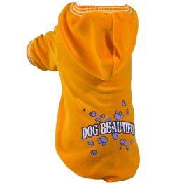 Hund Kostüm Bloodhound (Grande Finale© - B52 - Sweatshirt Hoodie Pullover für kleine & große Hunde • Alle Größe • Die meisten Modischen in dieser Saison • 2017 • Dog Beautiful • Gelb)