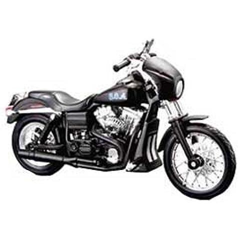 Harley Davidson Dyna Strada Bob (Tig Trager 2006) Modellino Motocicletta da Sons Of Anarchy