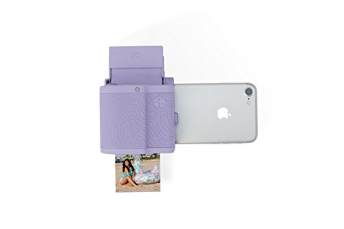 Prynt Pocket, Instant Photo Printer for iPhone (Lavender)