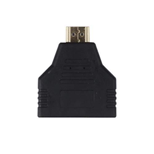 Dergtgh 2-Port-Hallo-Definition 1080P Direkte Zwei-Wege-HDMI Splitter Video-Adapter 47 Lcd Full Hdtv