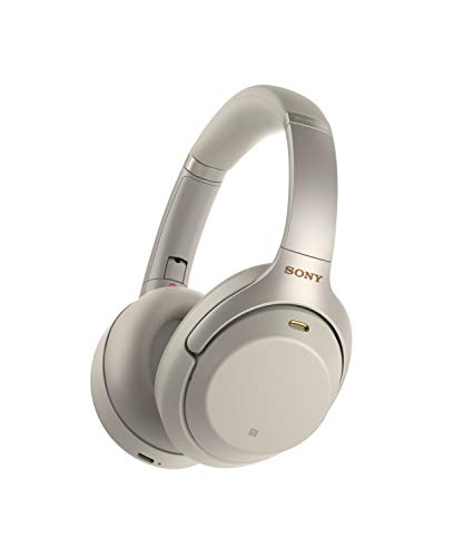 Sony WH-1000XM3 Cuffie Wireless Bluetooth con HD Noise Cancelling, Compatibile con Amazon Alexa, Argento