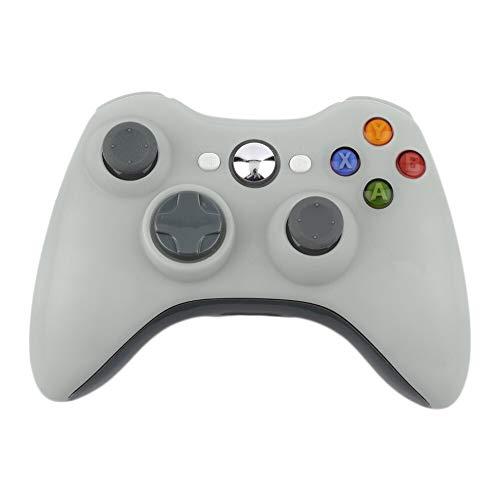VisvimQ 2,4 G Wireless-Controller für Microsoft Xbox 360-Konsole Gamepad Joypad-Spiel Fernbedienung Joystick mit PC-Empfänger (Farbe : White) - 360 Konsole-einheit Xbox