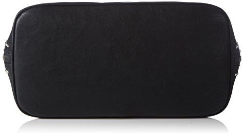 Armani Jeans 0525CZY, Borsa a mano donna Nero Schwarz (NERO - BLACK 12) 38x25x17 cm (B x H x T) Nero (Schwarz (NERO - BLACK 12))