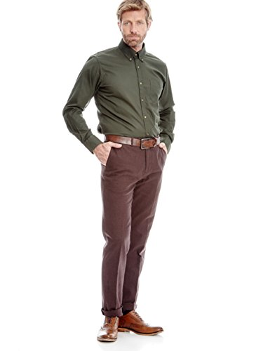 CORTEFIEL - Chemise casual - Homme Vert - Marine