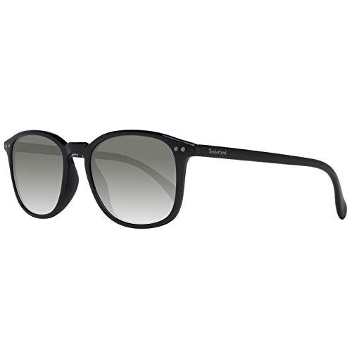 Occhiali da sole polarizzati timberland tb9066 c52 01d (shiny black / smoke polarized)