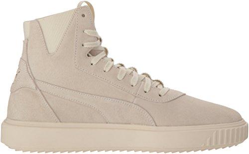 PUMA Men s Breaker Hi Sneaker  Whisper White Whisper White  7 5 M US