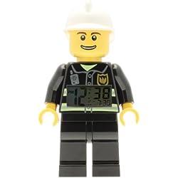 Lego - Réveil figurine lumineux Pompier de LEGO City 9003844 pour enfant