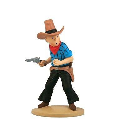 Figura de colección Tintín cowboy 11,5cm Moulinsart 42191 (2015)