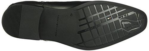 Tommy Hilfiger R2285upert 14a, Bottes Classiques homme Noir - Noir (990)