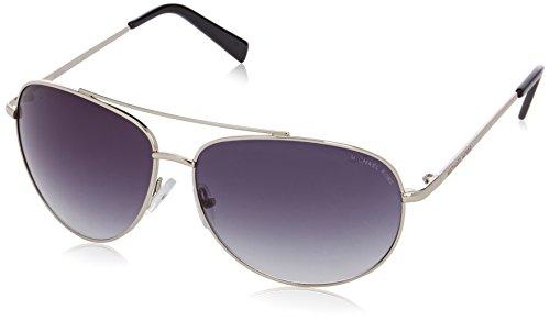 Michael Kors M3403S Aviator Sonnenbrille, 08B Gunmetal