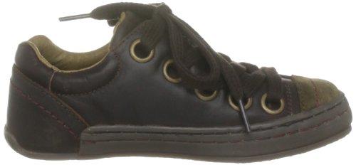 Fly London Seven K, Unisex - Kinder Sneaker Dark Brown