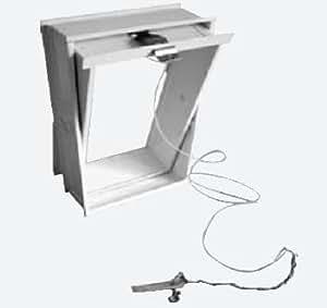 domodul l ftungsfl gel glasbausteine zugvorrichtung wei glasbaustein fenster 8cm gr e mm. Black Bedroom Furniture Sets. Home Design Ideas