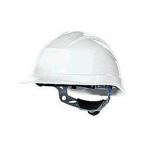 Venitex QUARTZ III rigida Cappello Casco di sicurezza con 3regolabile con Strap e chiave a cricchetto, colore: bianco