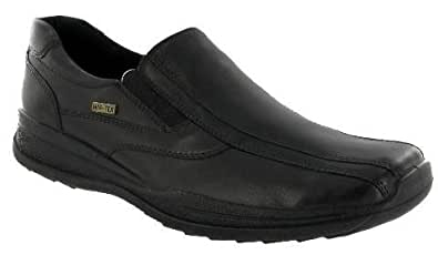 Cotswold Naunton Mens Twin Gusset Shoe / Mens Shoes (8 UK) (Black)