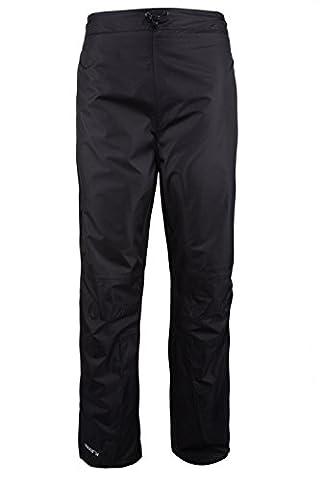 Mountain Warehouse Pantalon Femme Automne Hiver Imperméable Respirant Séchage Rapide Confort Poches Zip Noir 38