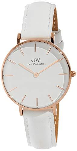 Daniel Wellington Women's Analogue Quartz Watch with Leather Strap DW00100189