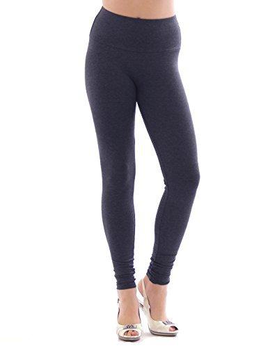 Damen Leggings hoher Bund lange Hose Leggins lang Baumwolle Wäsche jeans XXXL