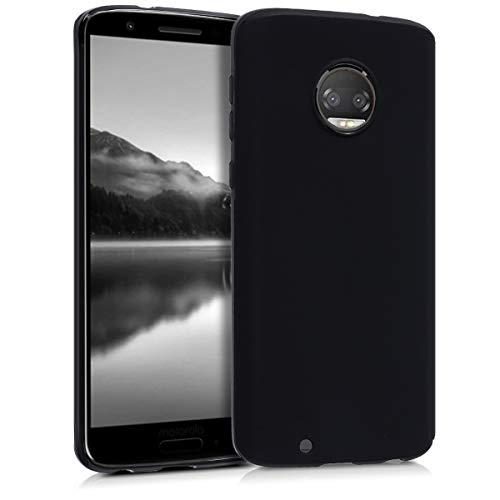 kwmobile Motorola Moto G6 Hülle - Handyhülle für Motorola Moto G6 - Handy Case in Schwarz matt