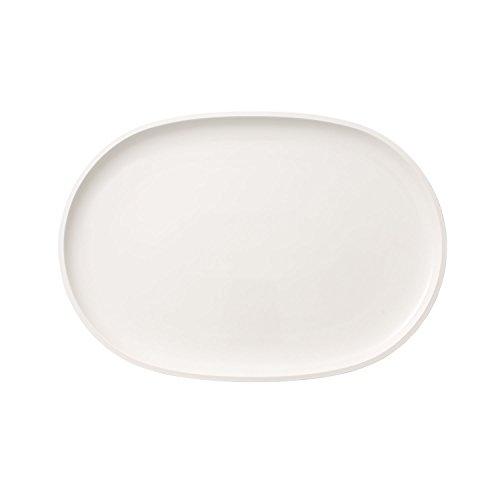 Villeroy & Boch Artesano Original Assiette à Poisson Ovale, 43 X 30 cm, Porcelaine Premium, Blanc