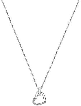 JETTE Silver Damen-Collier Silber 8 Zirkonia One Size, silber