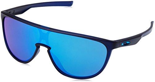Oakley Herren 0OO9318 Sonnenbrille, Mehrfarbig (Matte Translucent Blue), 40