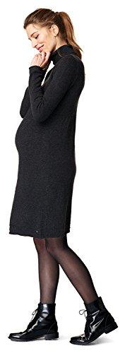 Esprit Maternity Umstandsmode Damen Kleid Dark Grey Melange