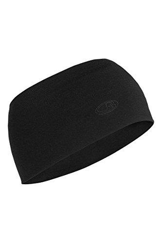 Icebreaker Stirnband Chase Headband Black, One size