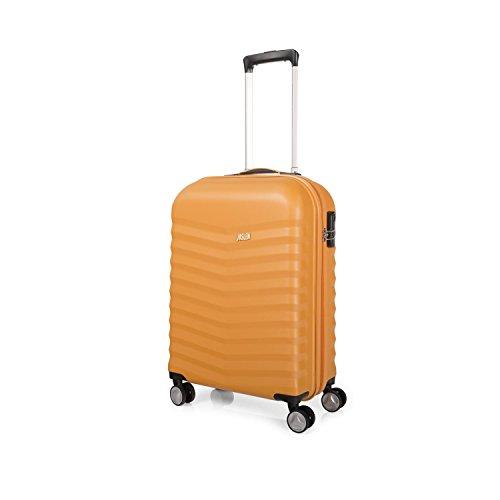 Trolley de cabina ABS modelo Baltimore - Mostaza